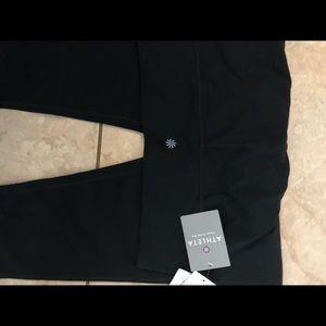Athleta Pants - Nwt Athleta Chaturanga Capris in Black XL